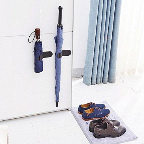 Wand montiert Mop Halter, yuyoug Mehrzweck Wand montiert Organizer Storage Haken, ideal Besen Aufhänger für Küche Garten und Garage Garage Storage Systeme Besen Organizer für Garage (Garage-rack-system)