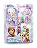 #2: HMI Original Licensed Disney Frozen Stationery Set with Metal Pencil Box and other required Stationery, 7 Pieces Set