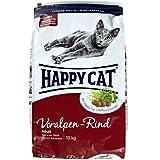 Happy Cat Katzenfutter 70040 Adult Voralpen-Rind 10 kg