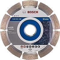 Bosch Pro Diamanttrennscheibe Standard for Stone zum Schneiden von Granit und Naturstein (Ø 125 mm)