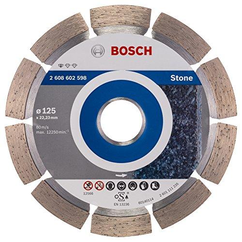 Bosch Pro Diamanttrennscheibe Standard for Stone zum Schneiden von Granit und Naturstein (Ø 125 mm) Test