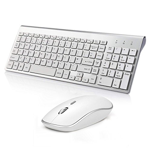 Wireless Keyboard and Mouse, 2.4...