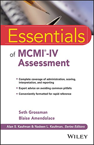 Essentials of MCMI-IV Assessment (Essentials of Psychological Assessment) por Seth D. Grossman