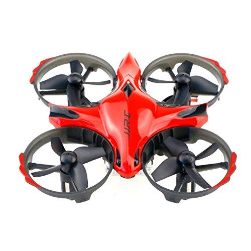 Prevently RC drone, New JJRC H56mini 2.4G gesto induzione + telecomando Dual Mode RC drone quadricottero UFO, Red