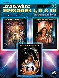 ALFRED PUBLISHING WILLIAMS JOHN - STAR WARS EPISODES I-III + CD - TROMBONE AND PIANO Noten Pop, Rock, .... Filmmusik - Musicals