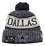 New Era Knitted Onfield Sport Beanie ~ Dallas Cowboys