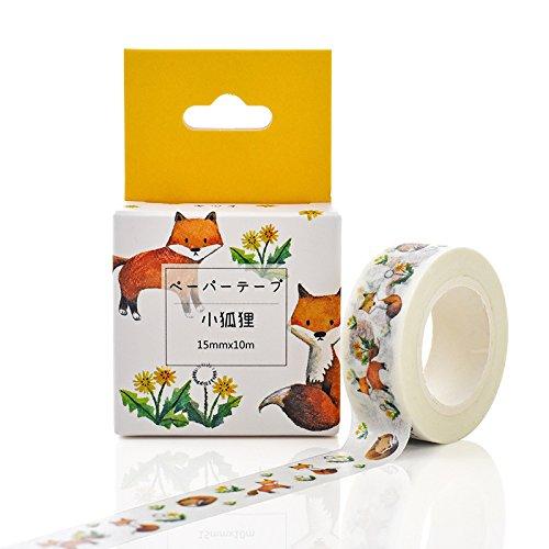 Band Lochstreifen Farbe Dekoration Band Aufkleber Riss Schreibwaren Box - Label Das Tagebuch Der Dekoration. M28 Kleiner Fuchs