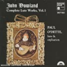 Dowland : Oeuvres pour luth Vol.1