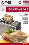Toastbeutel 3 Stück - 50x Wiederverwendbar - Toastabags