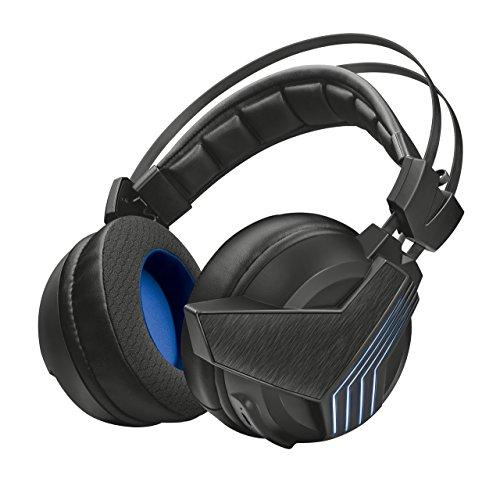 Foto Trust Gaming GXT 393 Magna Cuffie Gaming Wireless Over-Ear con Unità...