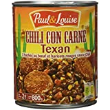 Paul & Louise Chili Cône Carne Texan 800 g -