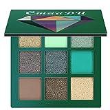 Battnot Lidschatten Palette 9 Farben Cosmetic Matte Eyeshadow Cream Makeup Palette Shimmer Set Lidschatten Eyeshadow (9 Farbe, 01#)