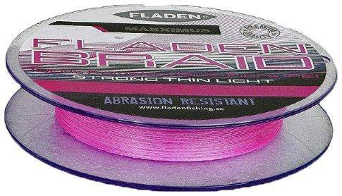 Maxximus Fladen Pink PE Geflochtene Schnur 250m, Herren, rose