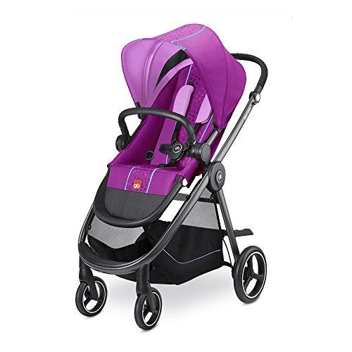 gb Gold Beli Air 4, Kinderwagen (bis 17 kg), posh pink (Pink In Posh)