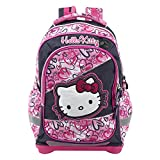 Hello Kitty Kinder-Rucksack 16307, Pink/Dunkel Blau