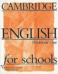 Cambridge English for Schools, Vol.1, Workbook