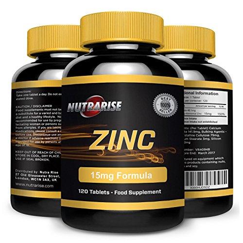 Citrate) 90 Tabletten (Zinkcitrat, Zink Citrat, Bester Sport Ergänzung für Muskelreparatur und Wachstum, Verstärkt das Immunsystem, Fördert die Hautpflege, Unterstützt Fertility, Für Männer & Frauen, Hergestellt in GB, 90 Tabletten)