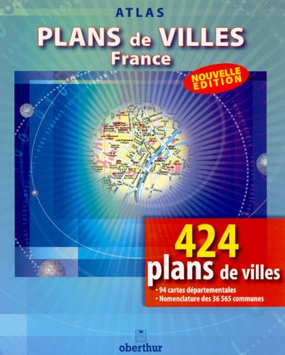 Atlas routiers : Index Atlas de la France 2002