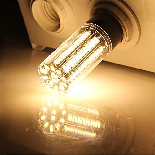 Lampadina LED E14 220V Lampadina 110V LED 3.5W 5W 7W 9W 12W 15W 20W LED Luce di mais SMD 5736 No Flicker Lights 6pcs, 7w, Warm White