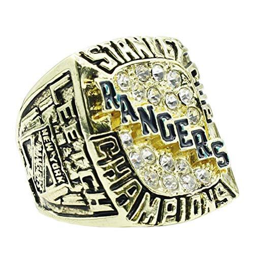 J-Z Gold-Diamant-New Yorker Rangers-Meisterschaftsringe aus Dem Jahr 1994, Gold, 10