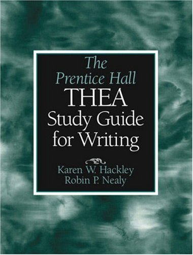 The Prentice Hall Thea Study Guide for Writing (Thea Guide Study)