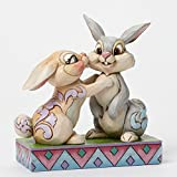 Klopfer Thumper & Miss Bunny Bambi Jim Shore Disney Hoppel Hase 4043667