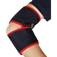 Zhuhaimei,Soporte de Rodilla Ajustable y Transpirable para Proteger la lesión del Codo o la Rodilla(Color:Negro)