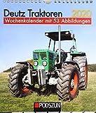 Deutz Traktoren 2020: Wochenkalender mit 53 Fotografien