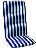 BEST 05090268 - Cojín para sillas de exterior (alto), color multicolor
