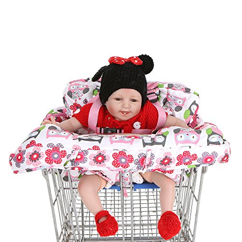 Baby Sicherheit Sitzbezug Sitzkissen Einkaufen Hochstuhl Einkaufswagen Abdeckung