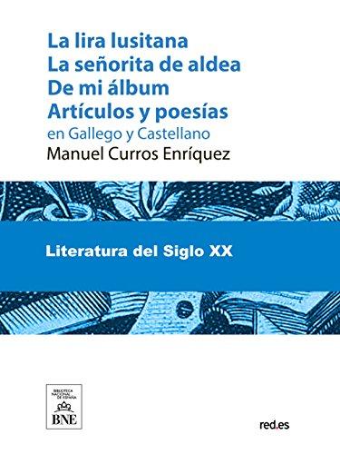 La lira lusitana por Manuel Curros Enríquez