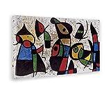 GIALLO BUS - BILD - DRUCK AUF LEINWAND - JOAN MIRO - IL MITTE - 50 x 100 CM