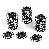 50 Poker Chips Wert 100 11 g für Pokerkoffer