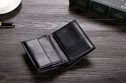 51B5QAauj4L - Cronus & Rhea® | Luxury wallet with coin pocket made of exclusive leather (Charon) | Wallet - Wallet - Wallet - Money Clip | Real leather | With elegant gift box | Men