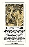 Zusammenhänge / Nachgedanken: Essay über Israel. Eine Konzeption (detebe) - Friedrich Dürrenmatt