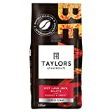 Taylors of Harrogate Hot Lava Java Coffee Beans 227g (Pack of 6)