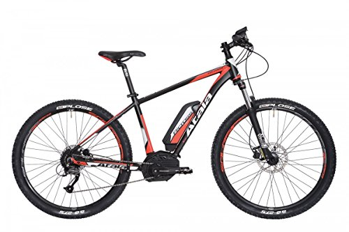 "'Atala bicicleta eléctrica b-cross 27,5""9V Talla 16"" 41negro/naranja CX 400Wh Purion (EMTB Front)"