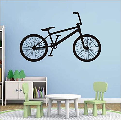 dschungel gym KUANGJING Wohnzimmer wandaufkleberKreative Fahrrad Applique Moderne tapete Garage Gym Wohnzimmer Dekoration Vinyl Aufkleber kleber wasserdicht abnehmbare 93.5x58 cm