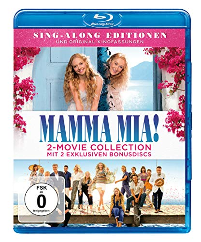 Mamma Mia! / Mamma Mia! Here we go again  (+ 2 Bonus-Discs) [Blu-ray]