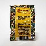 50 capsule compatibili Nespresso - 5 sacchetti da 10 capsule Ginseng Dolce per macchina caffè Nespresso - Capsule dedicate a macchine Nespresso - Il Mio Espresso