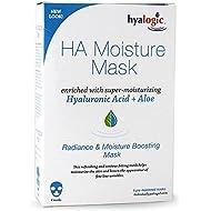 Máscara Episilk humedad con Ácido Hialurónico, 4 máscaras, 1 oz cada uno - Hyalogic LLC