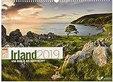 Irland ReiseLust 2019, Wandkalender im Querformat (45x33 cm) - Reisekalender mit Monatskalendarium