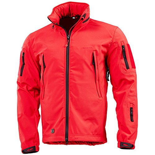 51B5V 15Y8L. SS500  - Pentagon Artaxes Men's Softshell Jacket Red