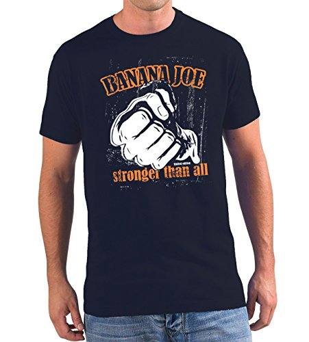 Banana Joe Original used look T-Shirt - Limited Edition #9 navyblau 5XL -