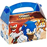 Sonic Boom Party Supplies - Empty Favor Boxes (4) by BirthdayExpress