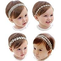 Clever Stirnband Blüten Haarband Baby Mädchen Taufe Haarschmuck Kopfband Handarbeit Kleidung, Schuhe & Accessoires Baby