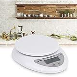 P12cheng Digitale Waage, 5 kg Mini-Digitalwaage, elektronisch, LED-Waage, Küche, Essen, Diät,...