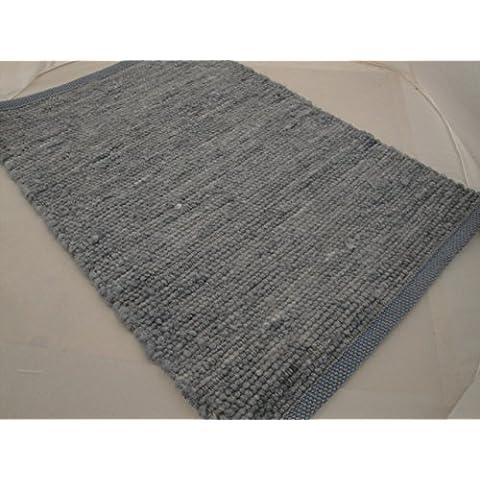 Pogo 36 tappeti tappeto tessuto a mano marchi Paulig collezione 60 x 40 cm kuheiga ZERBINO lana