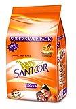 Santoor Bathing Bar Super Saver Pack, 10...