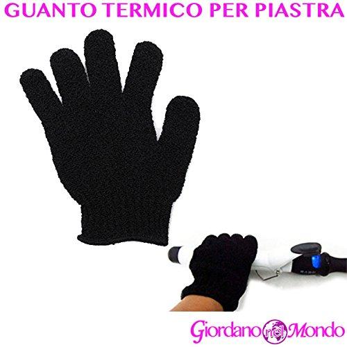 Guante térmico pelo para placa y hierro Evita bruciature profesional para peluquería